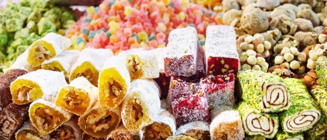 турецкие десерты с фото
